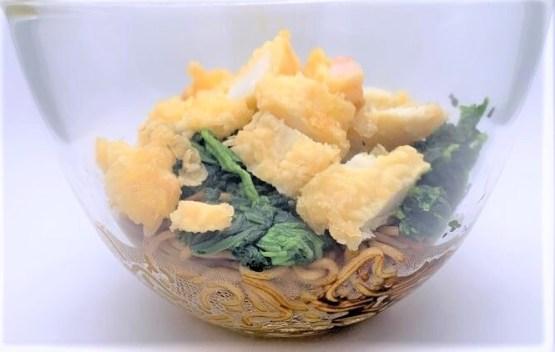 丸亀製麺 天ぷら 4種類  お持ち帰り アレンジ 料理 2020 japanese-fast-food-marugame-seimen-tempura-arrange-the-menu-2020-to-go