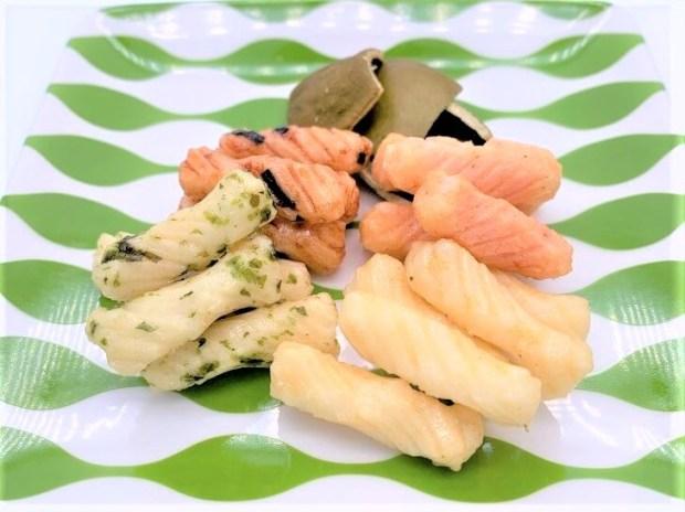 とよす 復刻版 ハイサラダ あられ 袋 懐かしいお菓子 2020 japanese-nostalgia-snacks-toyosu-hi-salad-rice-crackers-2020