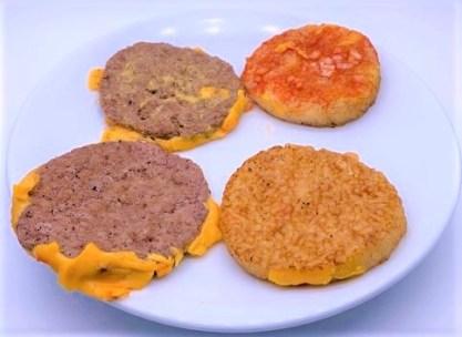 マクドナルド ごはんダブチ ライスバーガー テイクアウト 2020 期間限定 japanese-mcdonalds-rice-double-cheese-burger-2020-to-go
