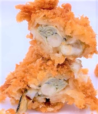 かつや 秋の海鮮フライ弁当 カキフライ エビフライ テイクアウト 期間限定 2020 japanese-fast-food-katsuya-deep-fried-breaded-oyster-and-shrimp-bento-2020-to-go