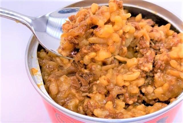 吉野家 缶飯 牛焼肉丼 非常用保存食 缶詰 防災備蓄 2020 japanese-canned-food-yoshinoya-kanmeshi-gyu-yakiniku-don-ready-to-eat-beef-bbq-bowls-2020