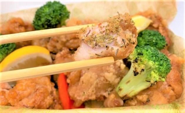 大戸屋 チキンミックス チキンボックス 箱 テイクアウト クリスマス 2020 japanese-chain-restaurant-ootoya-karaage-box-japanese-fried-chicken-assortment-2020-to-go