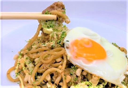 吉野家 牛肉やきそば 富士宮やきそば コラボ 袋 冷凍食品 2021 japanese-fast-food-yoshinoya-beef-fujinomiya-yakisoba-frozen-food-2021