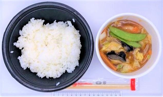 ほっともっと 中華あんかけごはん ライス普通 どんぶり 弁当 2021 japanese-fast-food-hottomotto-fujian-fried-rice-with-starchy-sauce-bento-2021-to-go