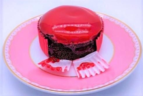 コメダ珈琲店 季節のケーキ ショコラズベリー テイクアウト デザート 2021 japanese-chain-coffee-shop-komeda-chocolate-raspberry-cake-2021-to-go