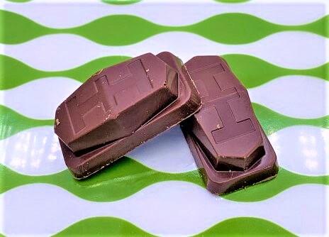 不二家 オフ ミルクチョコレート GABA×アーモンド 青い箱 お菓子 2021 japanese-snacks-fujiya-off-milk-chocolate-2021