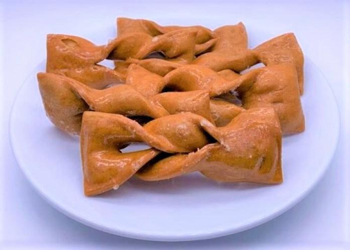 ゆかり堂製菓 落葉かりんとう 大きい ねじり 袋 お菓子 2021 japanese-snacks-yukaridou-seika-ochiba-karintou-fried-dough-cookies-2021