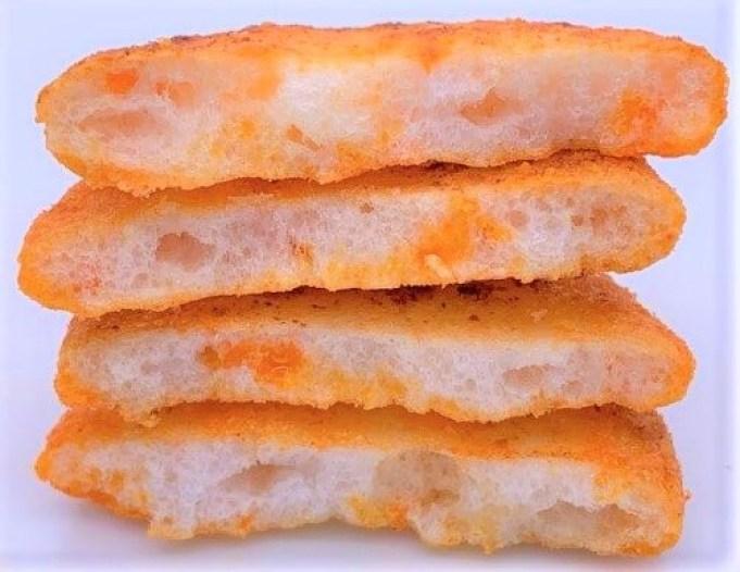 岩塚製菓 こんがり焼いちゃいました。 ソフトな食感×トマトチーズ 袋 お菓子 2021 japanese-snacks-iwatsukaseika-kongari-yaichaimashita-rice-flour-chips-tomato-cheese-flavor-2021