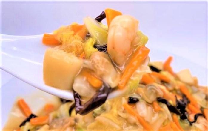 ヒガシマル ちょっとどんぶり 中華丼 味つけの素 中華風タイプ 小箱 2021 japanese-sauce-mix-higashimaru-chotto-donburi-chuka-don-chop-suey-on-rice-homemade-26-2021