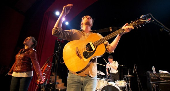 The Lumineers performing at The Chapel in August