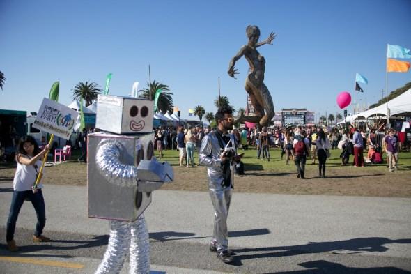 Treasure Island Music Festival Scene