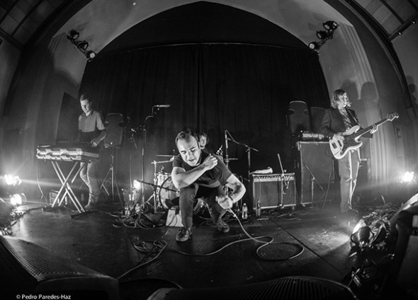 Future Islands at The Chapel // Photo by