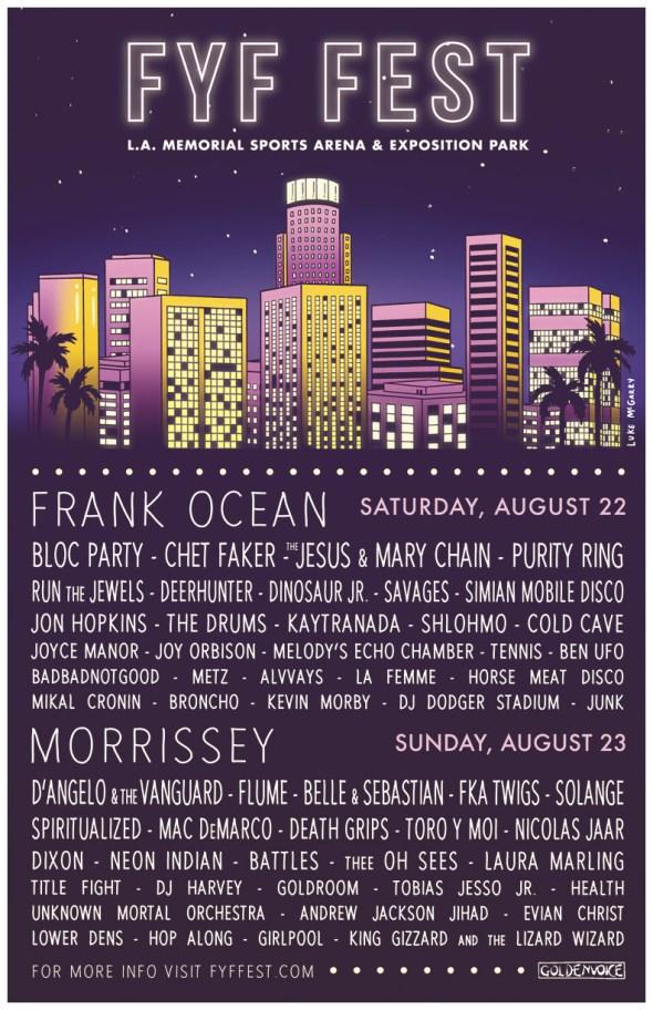 2015 FYF Fest lineup