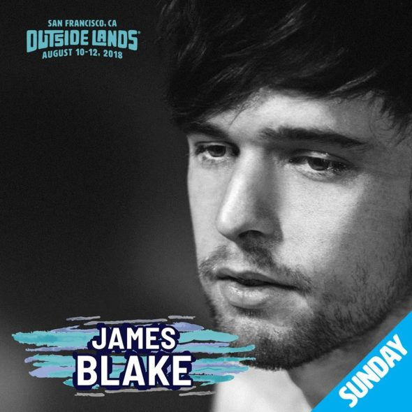 Outside Lands 2018 - James Blake