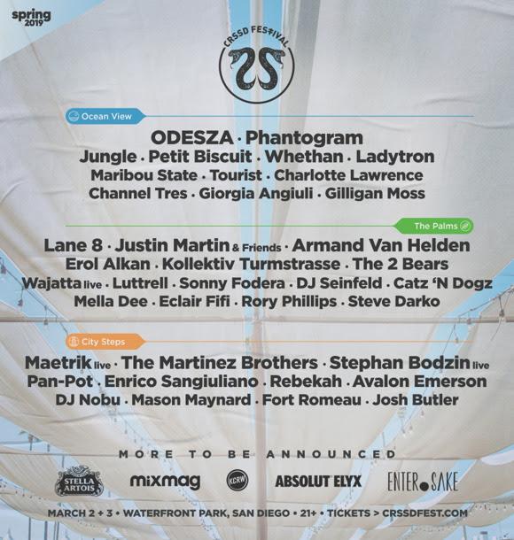 CRSSD Festival - 2019 lineup