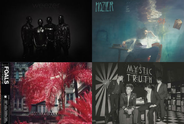 Top songs - Weezer, Hozier, Foals & Bad Suns