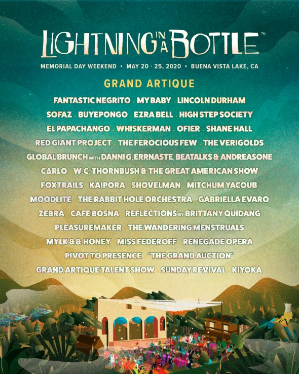Lightning in a Bottle 2020 - Grand Artique