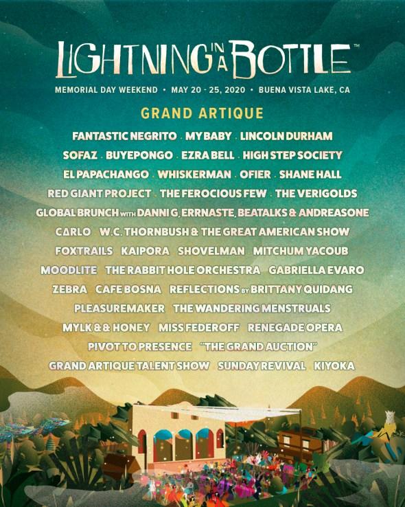 Lightning in a Bottle 2020 - Grand Artique