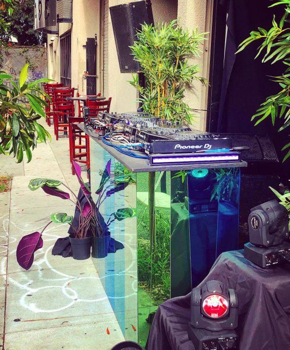 Public Works - DJ booth