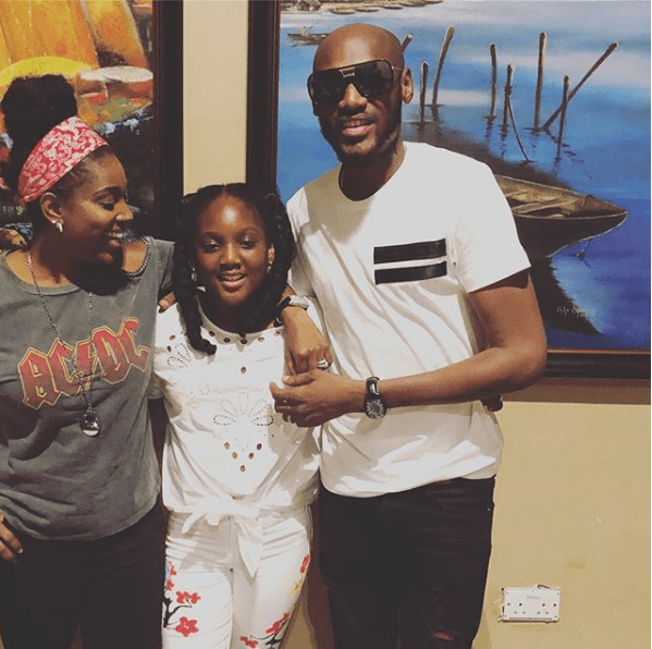 Source Reporter247org 2017 12 2face Idibia And Annies First Daughter