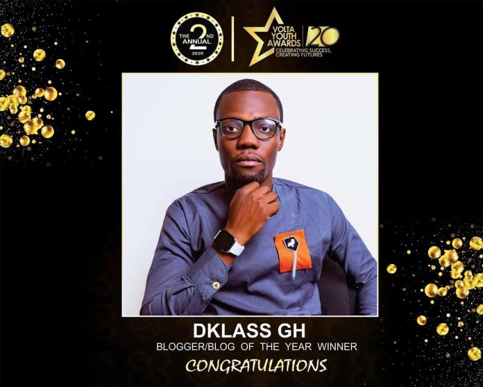 D.Klass GH Crowned As Best Youth Blogger