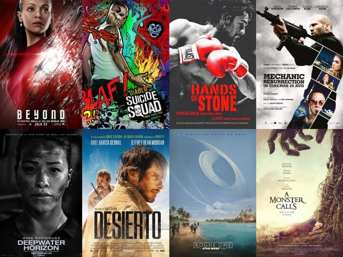 Latino Movie Poster Collage