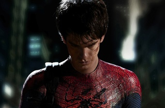 Official picture of Andrew Garfield as Spider-Man!