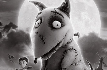 First look at Tim Burton's 'Frankenweenie' Poster
