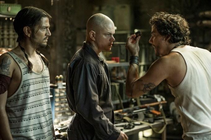 Diego Luna in 'Elysium'