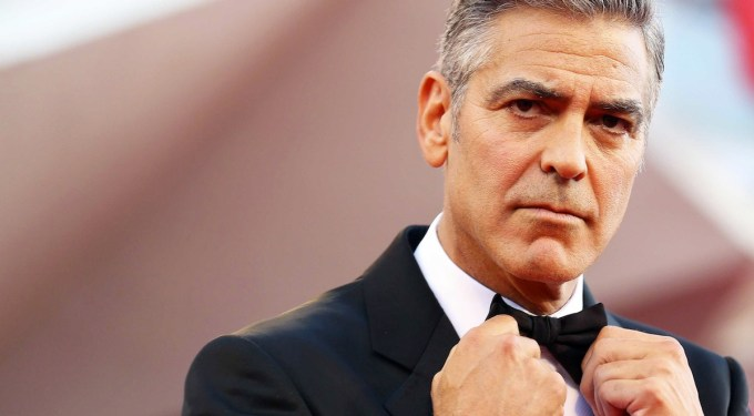 Lengua, Cámara y Acción: George Clooney Is Pissed-Off!