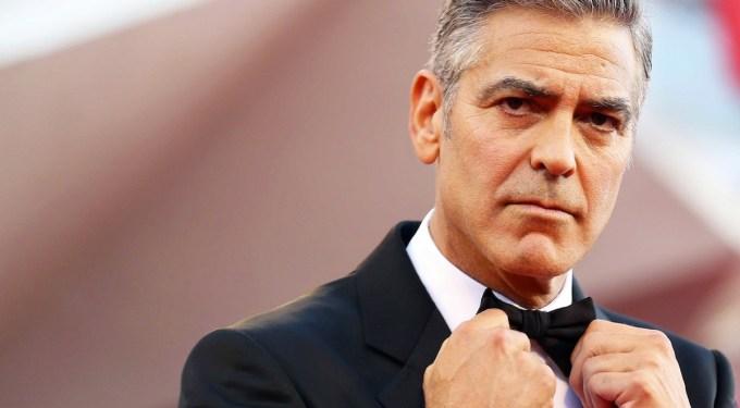 Lengua, Cámara y Acción: George Clooney Is Pissed-Off!