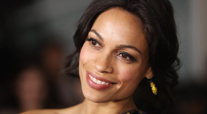 "Rosario Dawson Is Inspired To Produce A Film After ""Cesar Chavez"""
