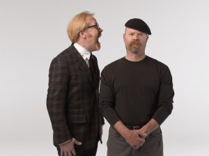 Adam Savage and Jamie Hyneman Photo credit: Robert Fujioka