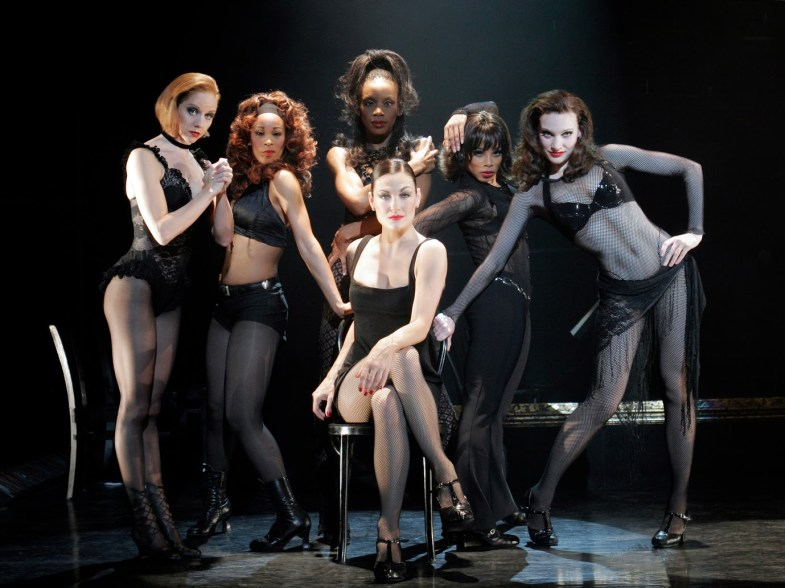Terra C MacLeod as Velma Kelly and the Merry Murderesses CHICAGO Credit: Paul Kolnik