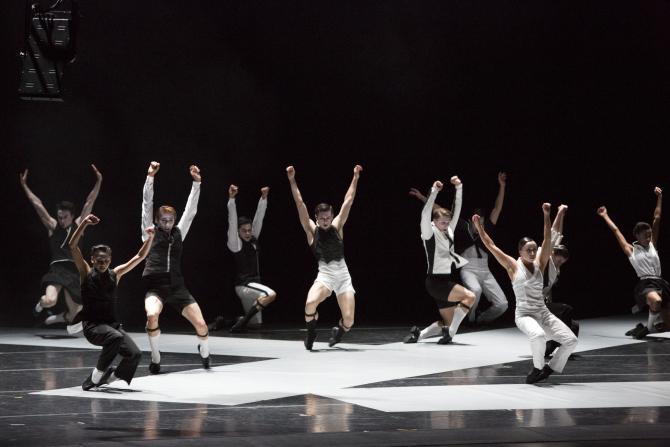 Joffrey Ballet's Episode 31 by Alexander Ekman. Photo Credit: Cheryl Mann