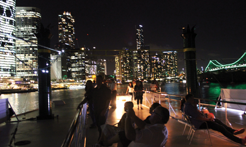Work Christmas party cruises Brisbane City, Kookaburra Showboat Cruises