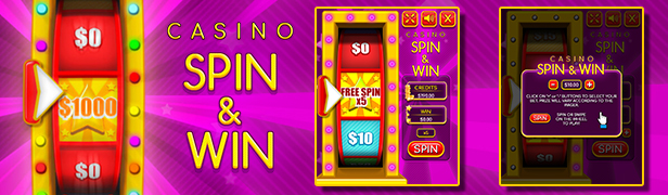"""Casino Spin and Win"""" width="""