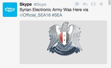 Skype official Twitter account has been hacked