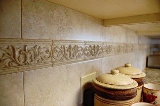 Tile work done by Seth Macomber