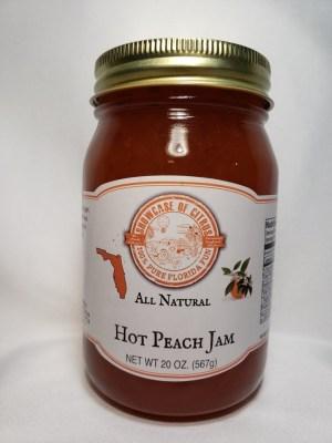 Hot Peach Jam
