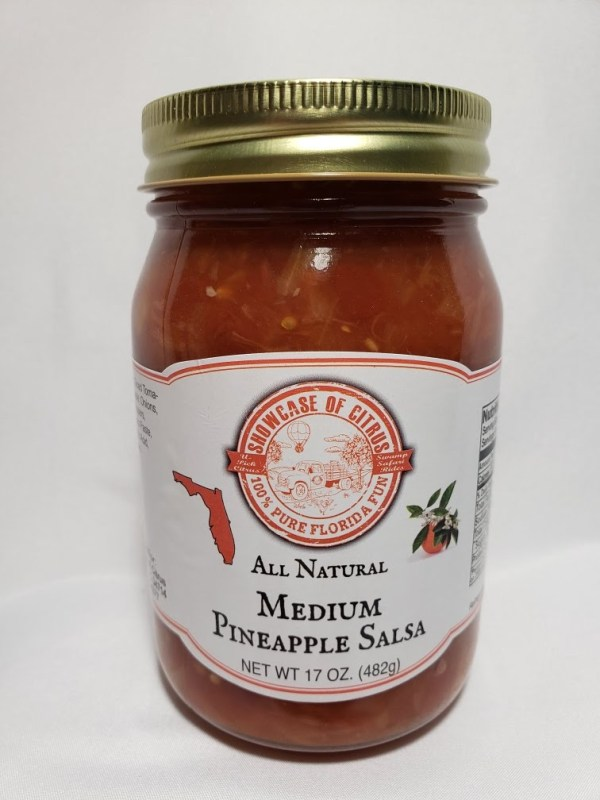Medium Pineapple Salsa