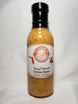 Vidalia Onion and Poppyseed Dressing