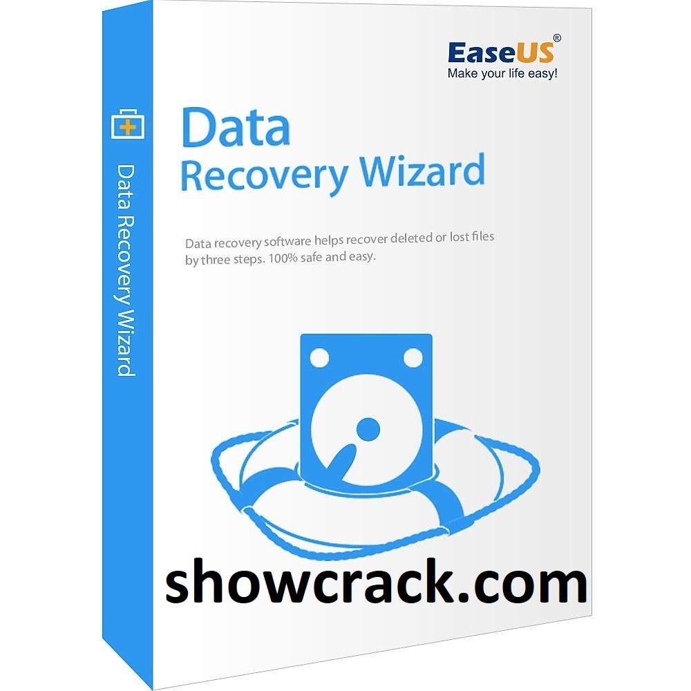 EaseUS Data Recovery Wizard 13.5 Crack + Keygen Free Download 2021 [ Latest ]