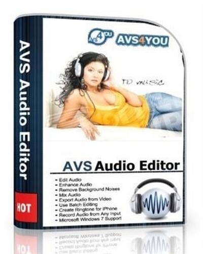 AVS Audio Editor Crack + License Key Free Download 2021 [ Latest ]
