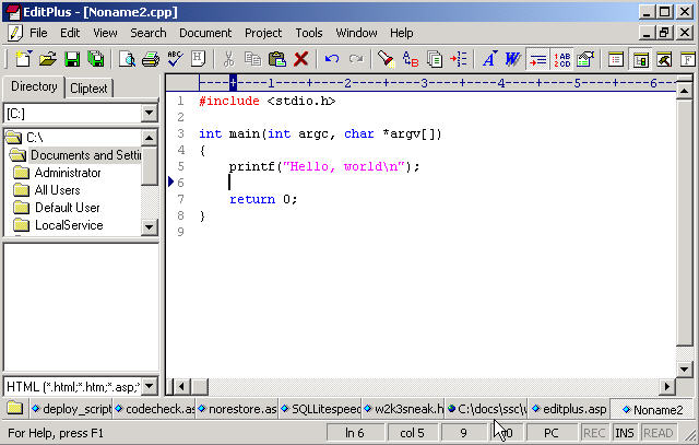 EditPlus 5.4 Build 3527 Crack Key + Serial key Free