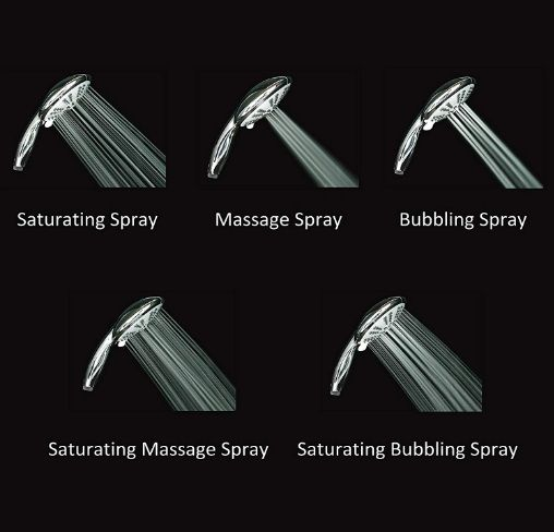 Ana Bath SS5450CBN 5 function water setting