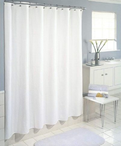 DeLaines Frosted Shower Curtain Liner