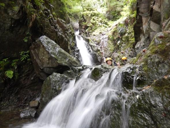 シャワークライミング ツアー 丹沢 神奈川 関東