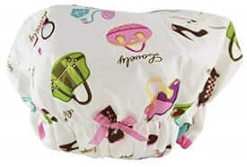 Betty Dain Fashionista Mold Resistant Lined Shower Cap