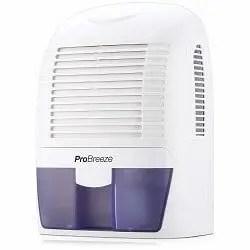 Pro Breeze PB-03-US Electric Mini Dehumidifier, 2200 Cubic Feet,
